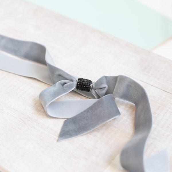 Cinturon Joya rosa gris C2